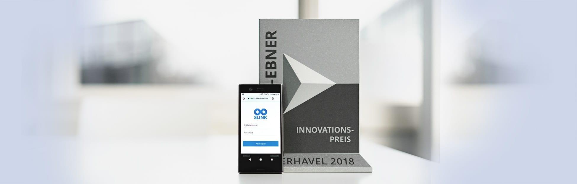 Slink - ausgezeichnet mit dem Lothar Ebner Innovationspreis